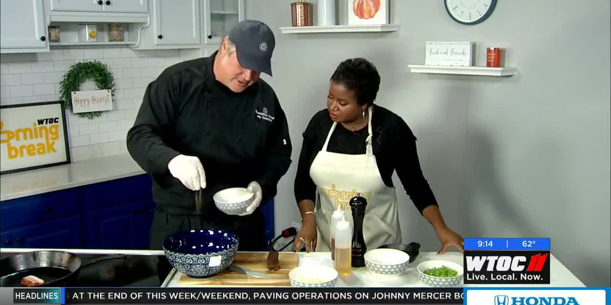 Cooking with the Savannah Food & Wine Festival