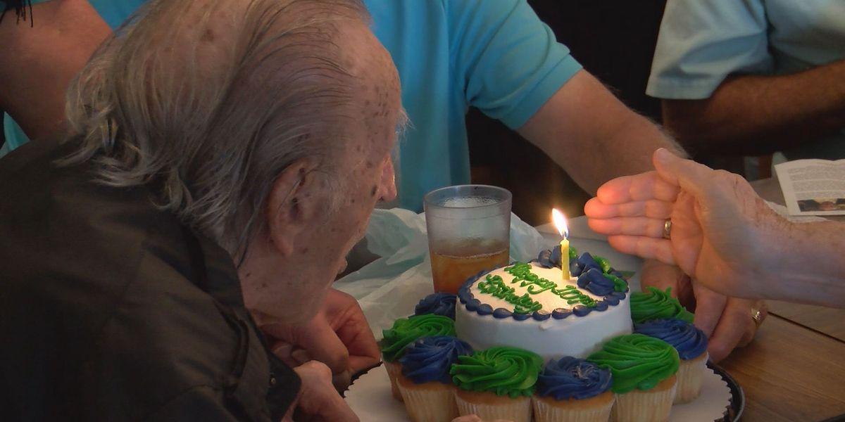 Marvelous Alee Shrine Temples First Potentate Celebrates 107Th Birthday Funny Birthday Cards Online Alyptdamsfinfo