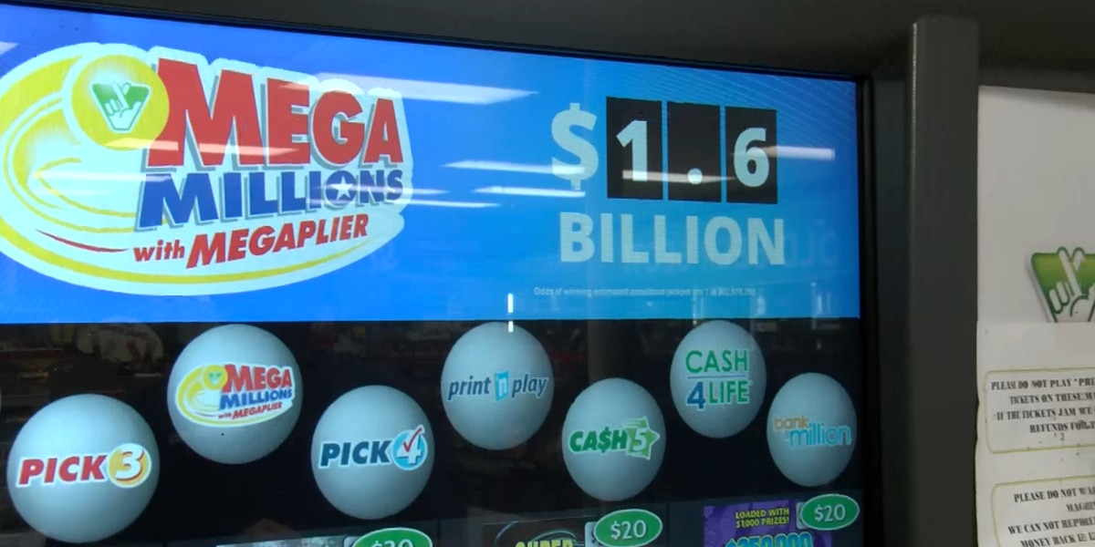Historic Mega Millions sends people to the lottery ticket counters