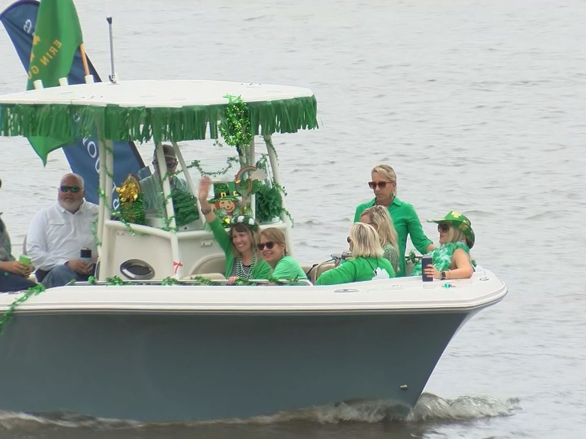 St. Patrick's Day festivities head to the water to adhere to COVID guidelines