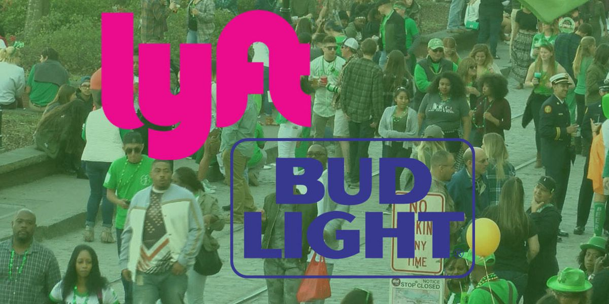 Lyft, Bud Light offering reduced rides to Savannah St. Patrick's Day festival goers