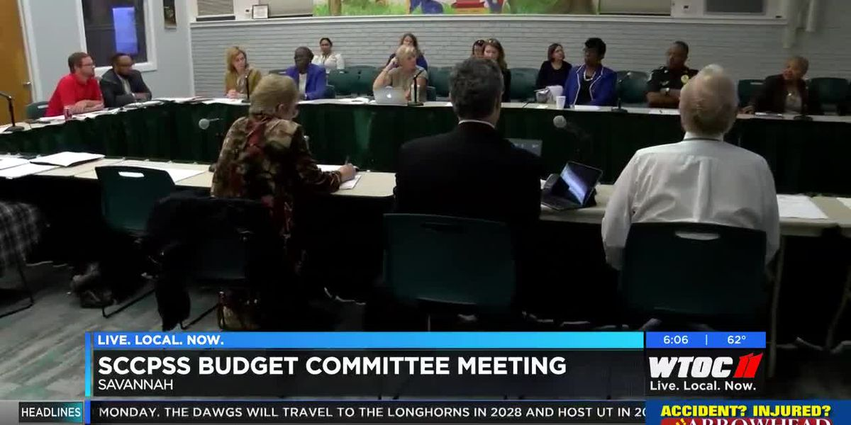 SCCPSS Budget Committee meets for first time of FY2019