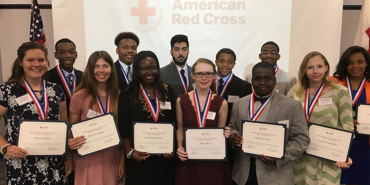 American Red Cross honors youth heroes
