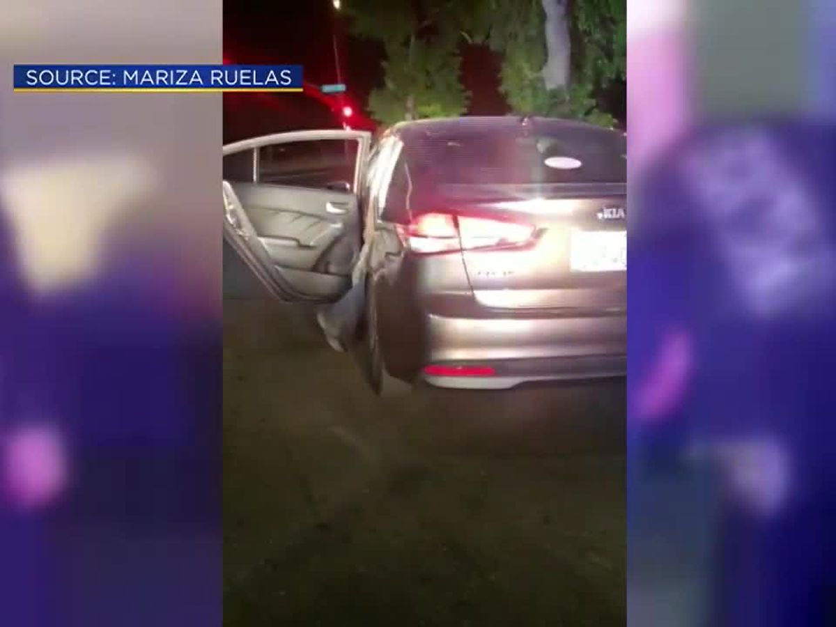 Lyft driver doesn't realize she's driving getaway car after unwittingly picking up wanted man