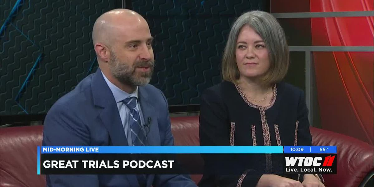 Savannah attorneys Steve Lowry and Yvonne Godfrey host the Great Trials Podcast.
