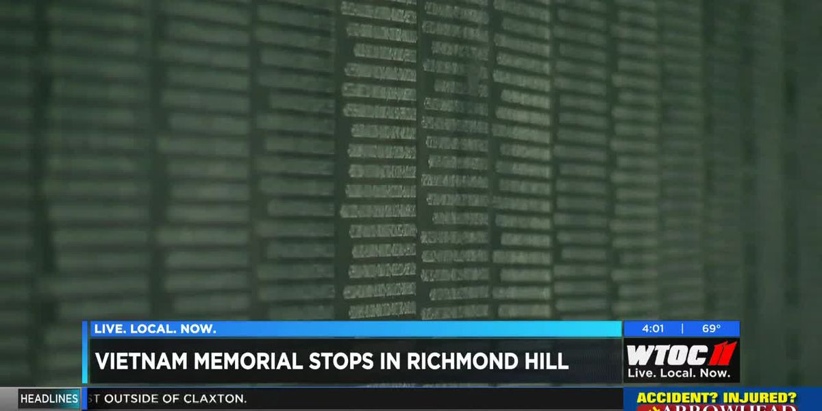 Vietnam Veterans Memorial mobile unit to stop in Richmond Hill