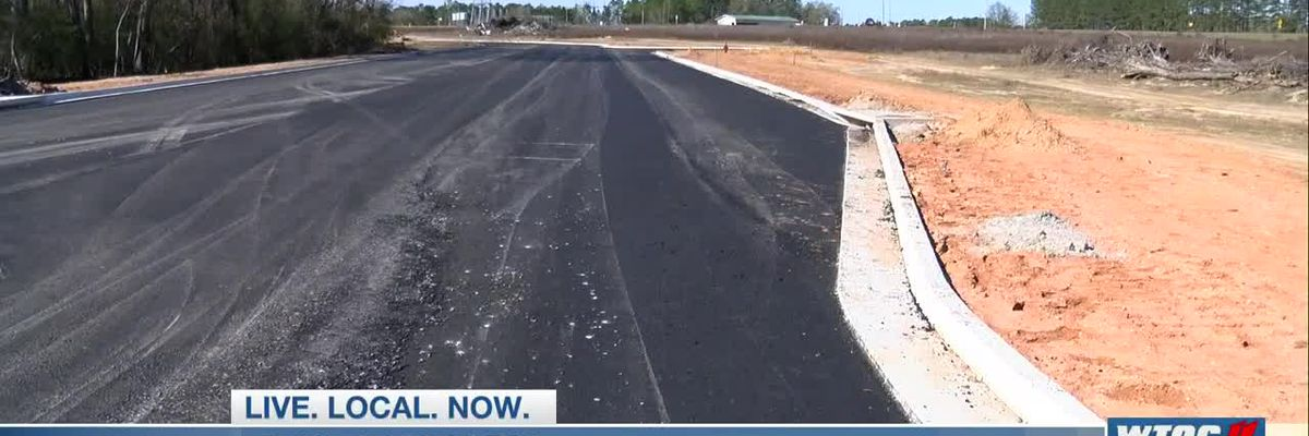 Paving completed on Tormenta Way, development continues for new soccer stadium