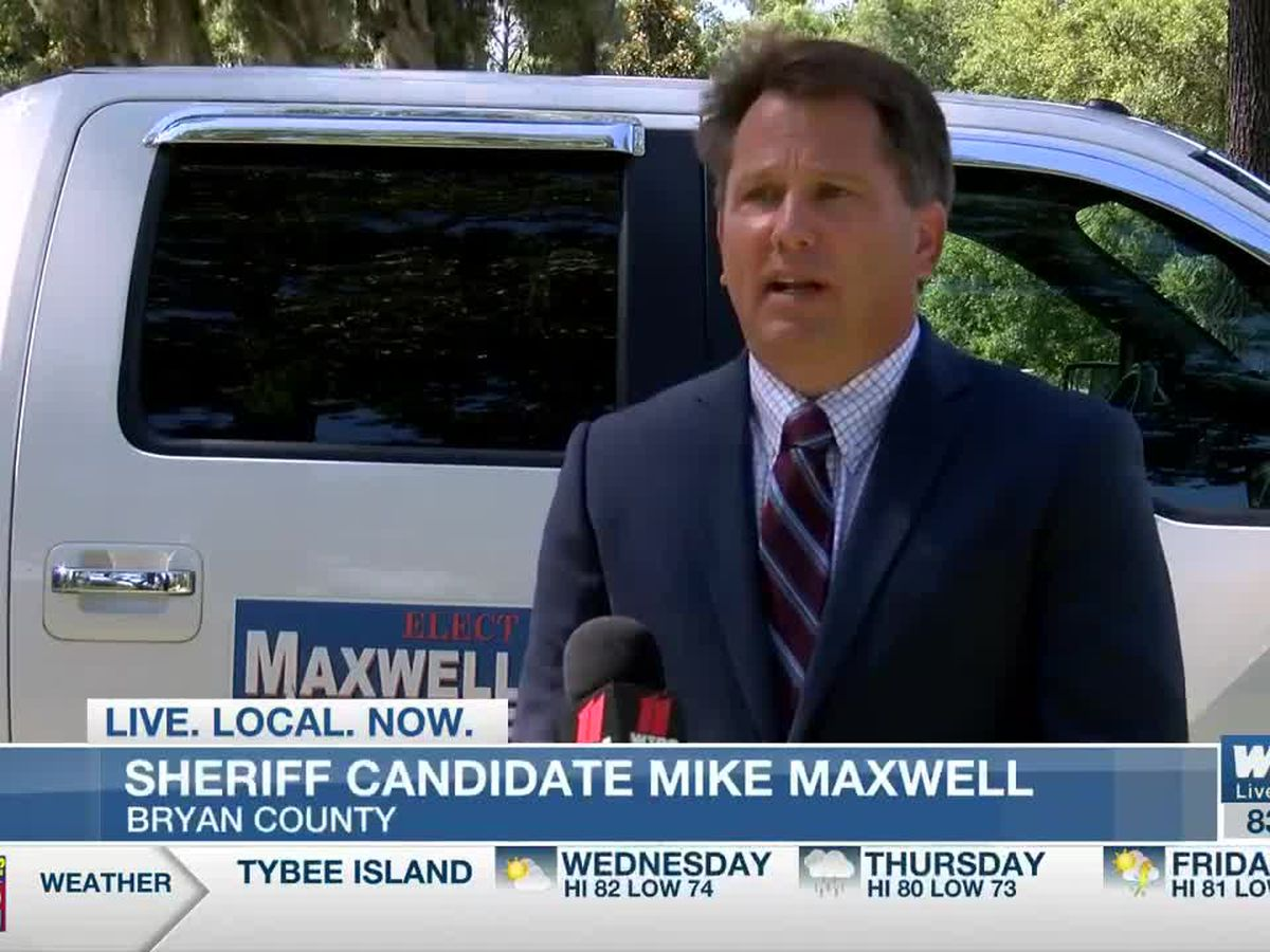 Bryan County sheriff candidate Mike Maxwell
