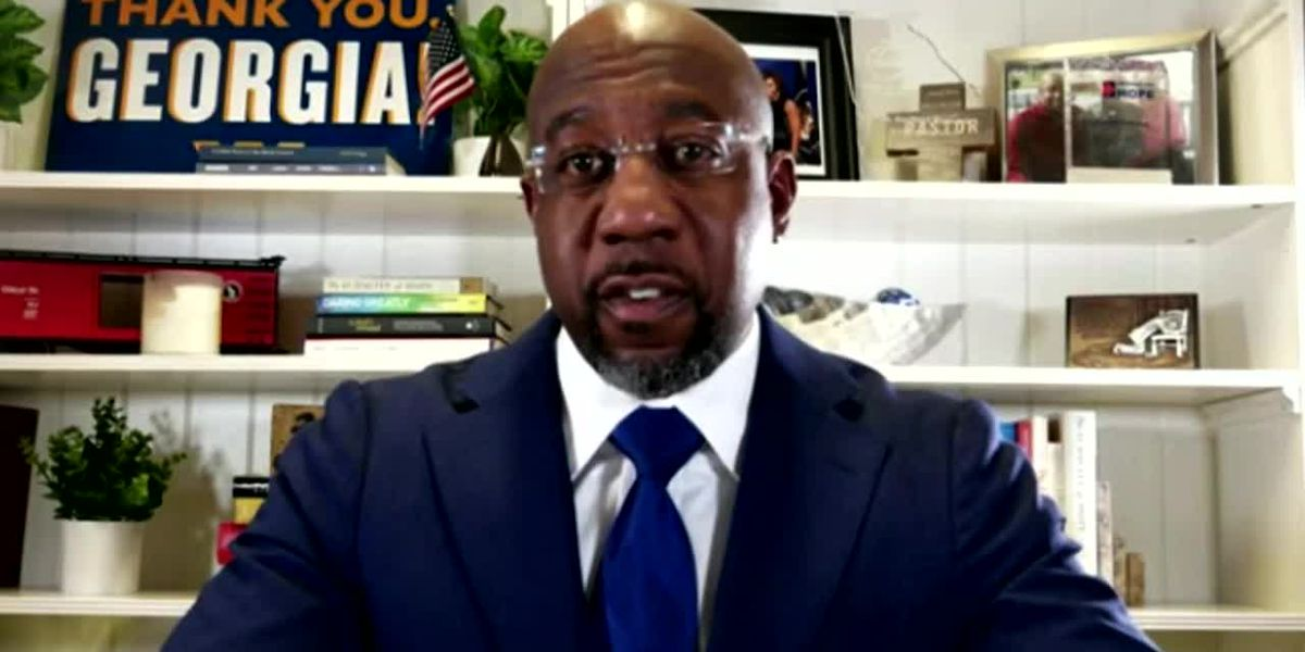 WATCH: Interview with Sen. Raphael Warnock