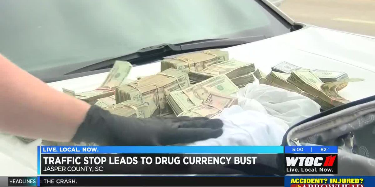 Traffic stop leads to drug currency bust by JCSO