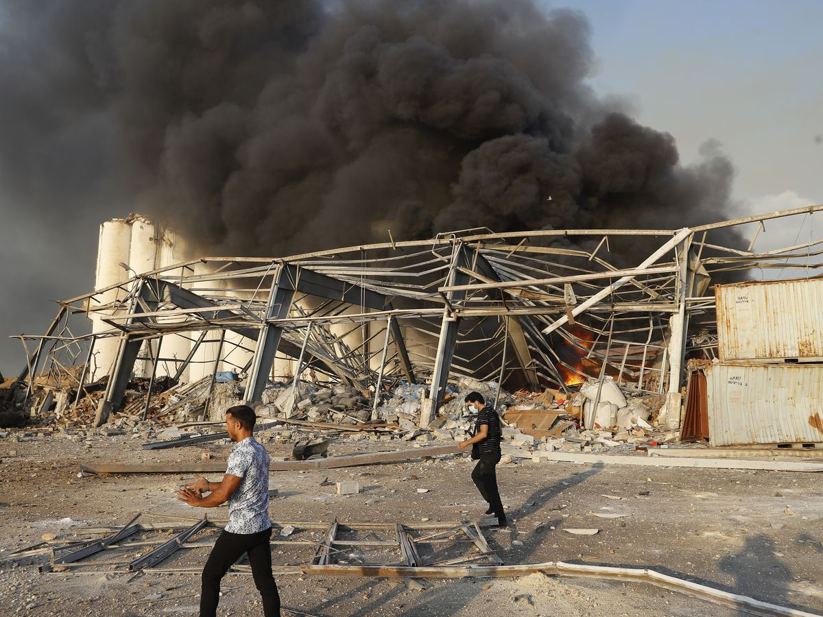 Over 25 killed, hundreds hurt in huge blast in Beirut