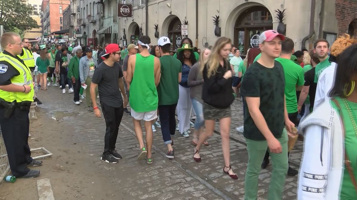 Shuttle services offered for St. Patrick's Day Festival in Savannah