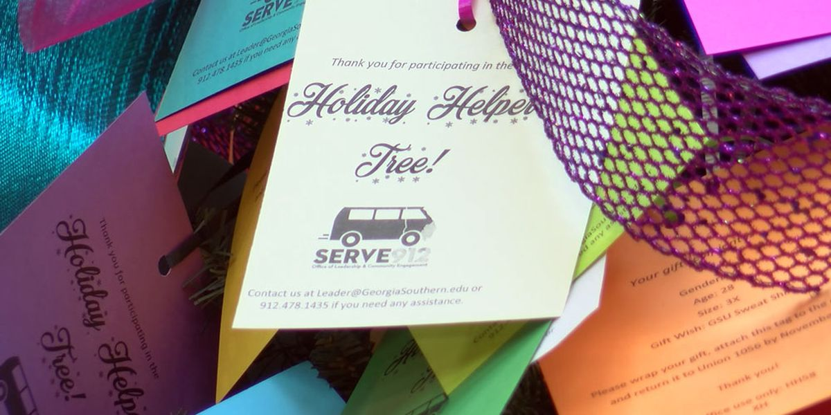 Georgia Southern kicks off annual Holiday Helper Tree event