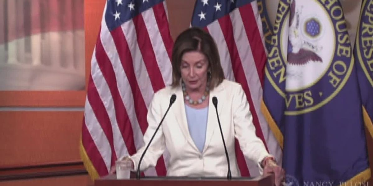 Pelosi: Raising minimum wage helps narrow gender gap