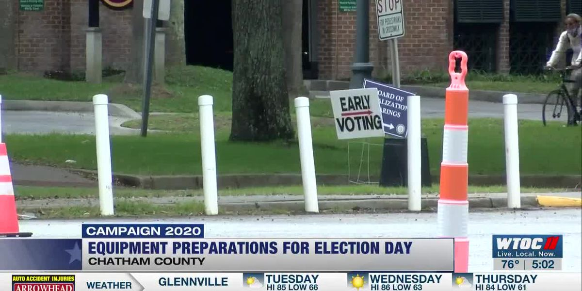Chatham Co. election leaders say all voting equipment tested, will be deployed to 91 polling locations for Election Day