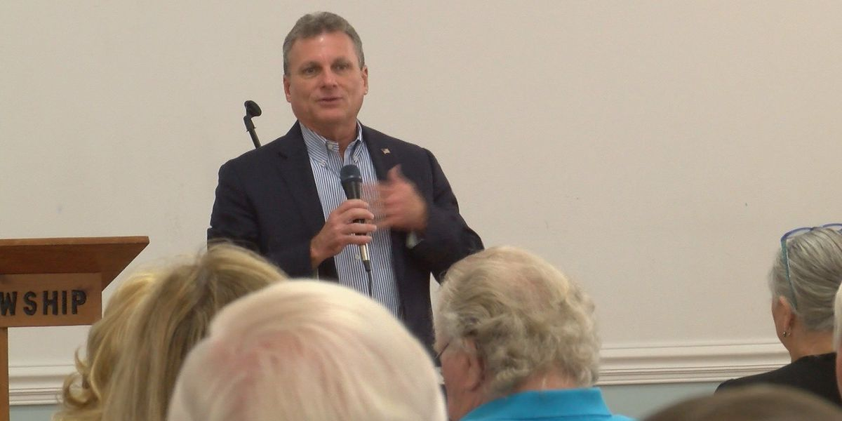 Rep. Buddy Carter holds town hall meeting in Rincon, Savannah