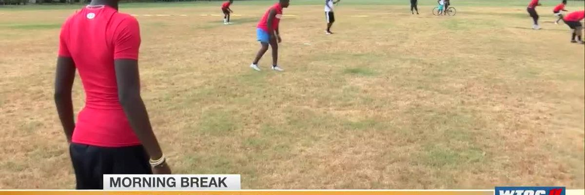 WTOC Good News: Local teen starts football league for middle schoolers