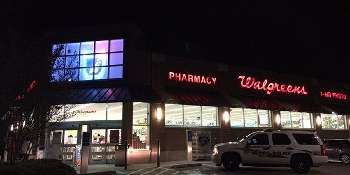 Metro Police investigate armed robbery at Walgreens on E. DeRenne Avenue in Savannah