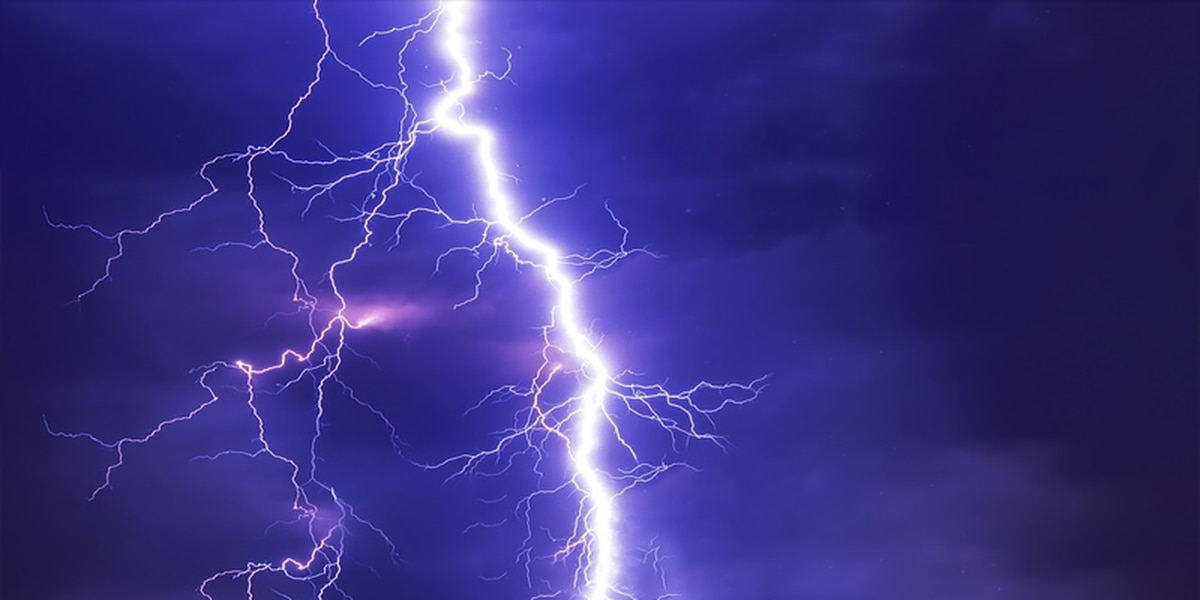 Man dies after being struck by lightning during storms in Chester County, S.C.