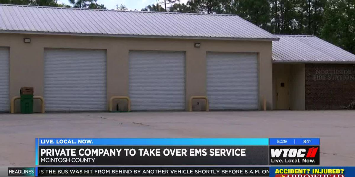 Private company to take over McIntosh County EMS service