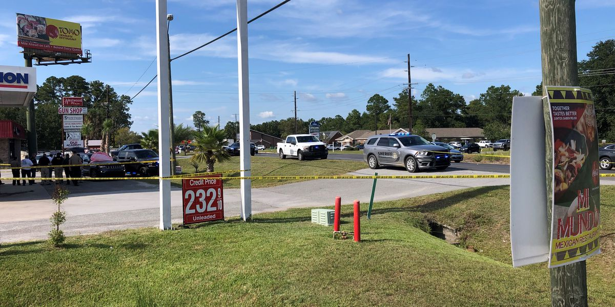 Deputies: Homicide suspect shot himself at gas station in Rincon