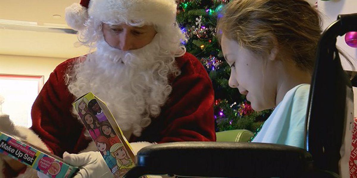 Good News: Atlanta Gas Light delivers toys to Children's Hospital