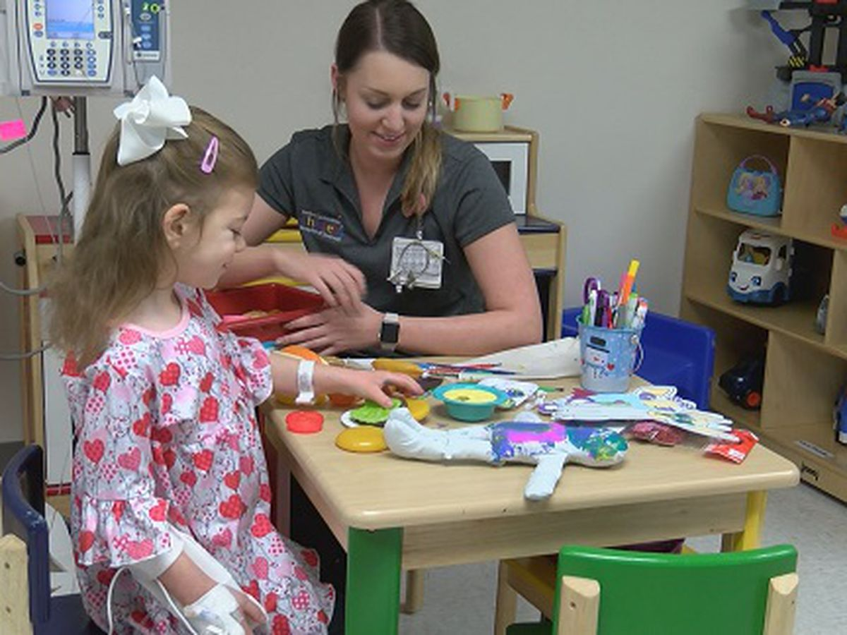 Brave 5-year-old perseveres at Memorial Health