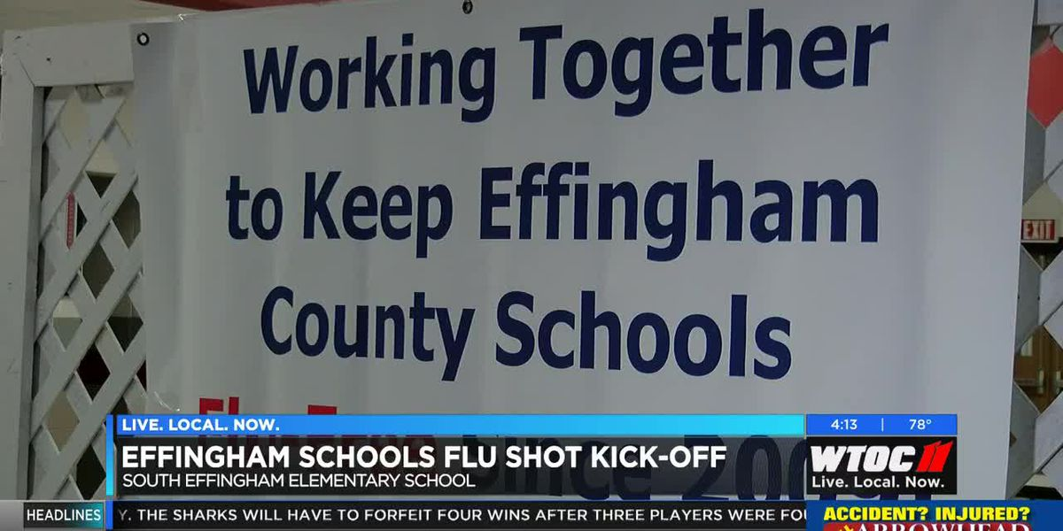 Flu shots available to all students at Effingham County schools