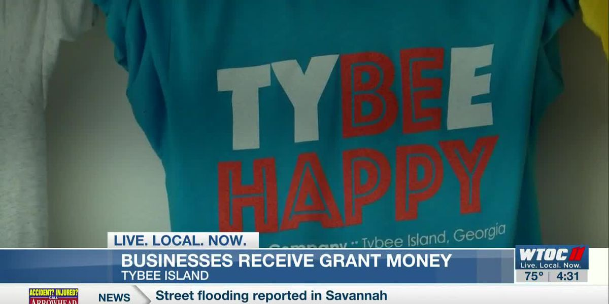 Tybee businesses helped by local grant