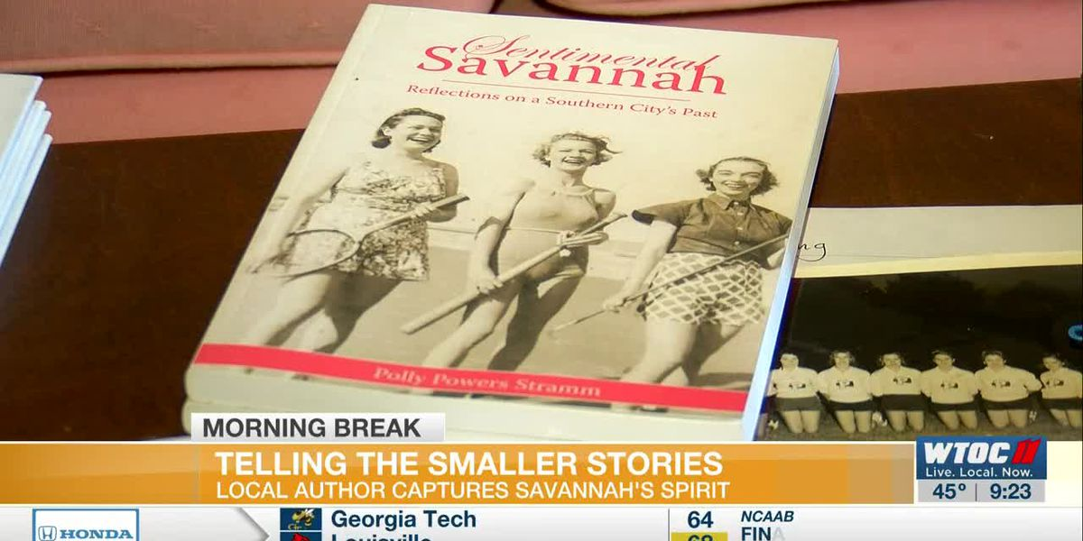 Local author telling the smaller stories in Savannah