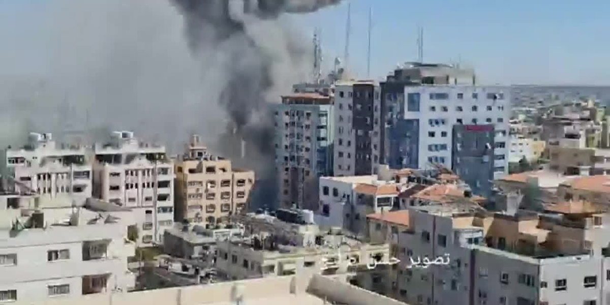 Israeli strike destroys AP, al Jazeera offices