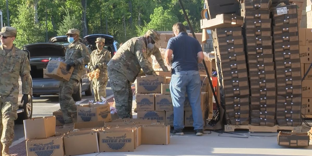 Second Harvest hands out 100,000 pounds of food during emergency distribution