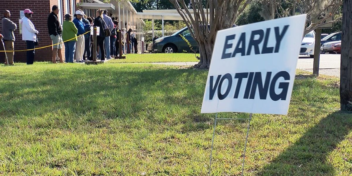 Early voting underway for Georgia presidential primary