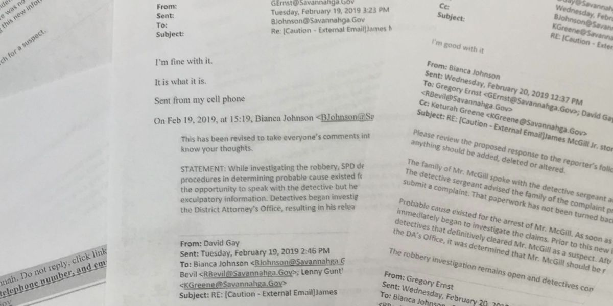 New documents show why police arrested wrong person