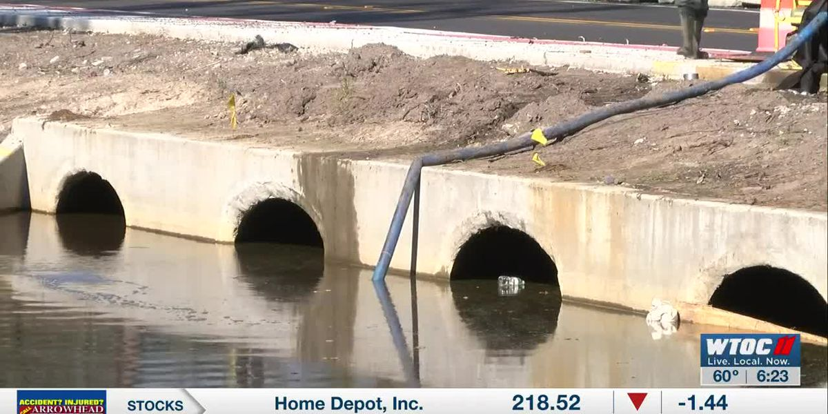 Flooding recedes, Bryan Co. families hoping Hwy 144 project fixes issue