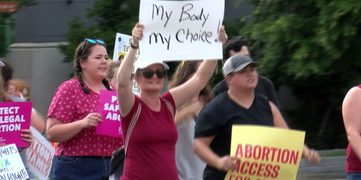 Pro-choice protests planned for Tuesday as more states pass abortion bans