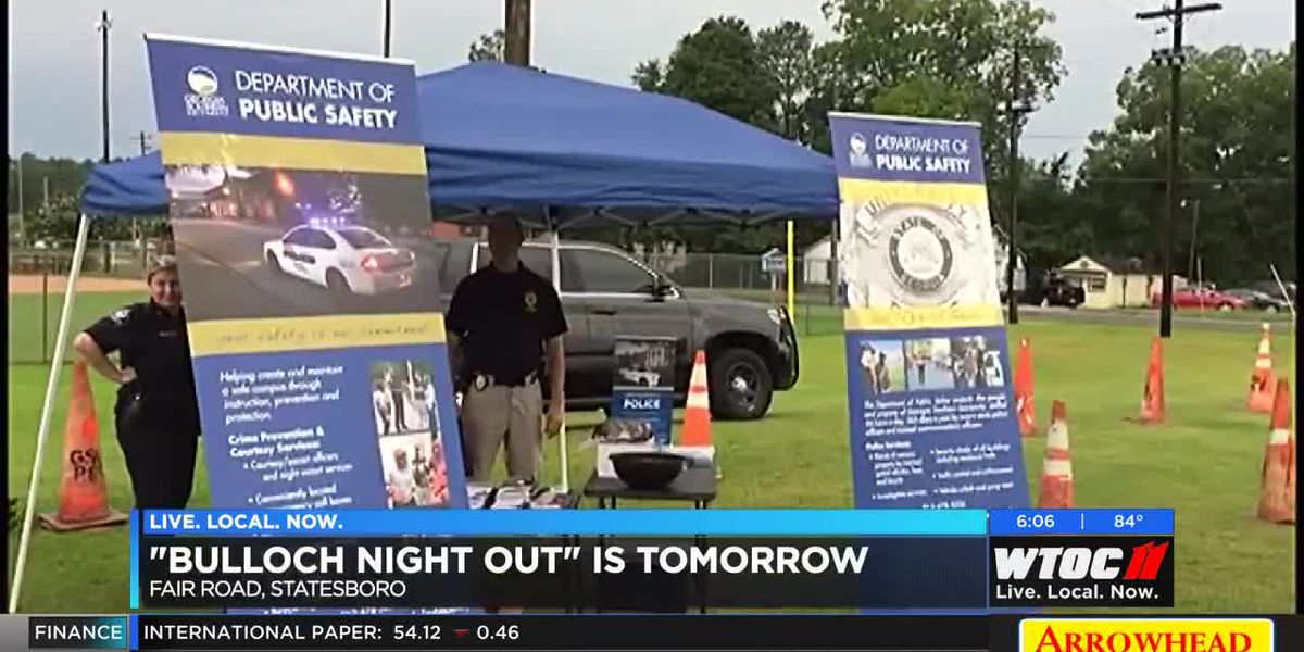 Bulloch Night Out to be held Saturday in Statesboro