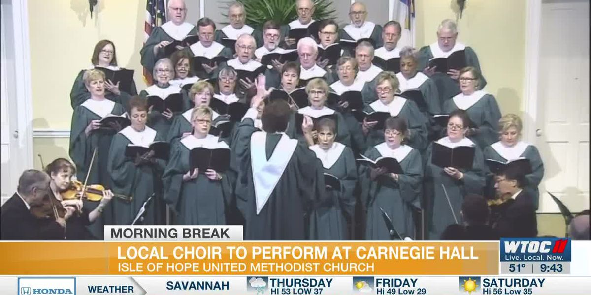 Local Church Choir to Perform at Carnegie Hall