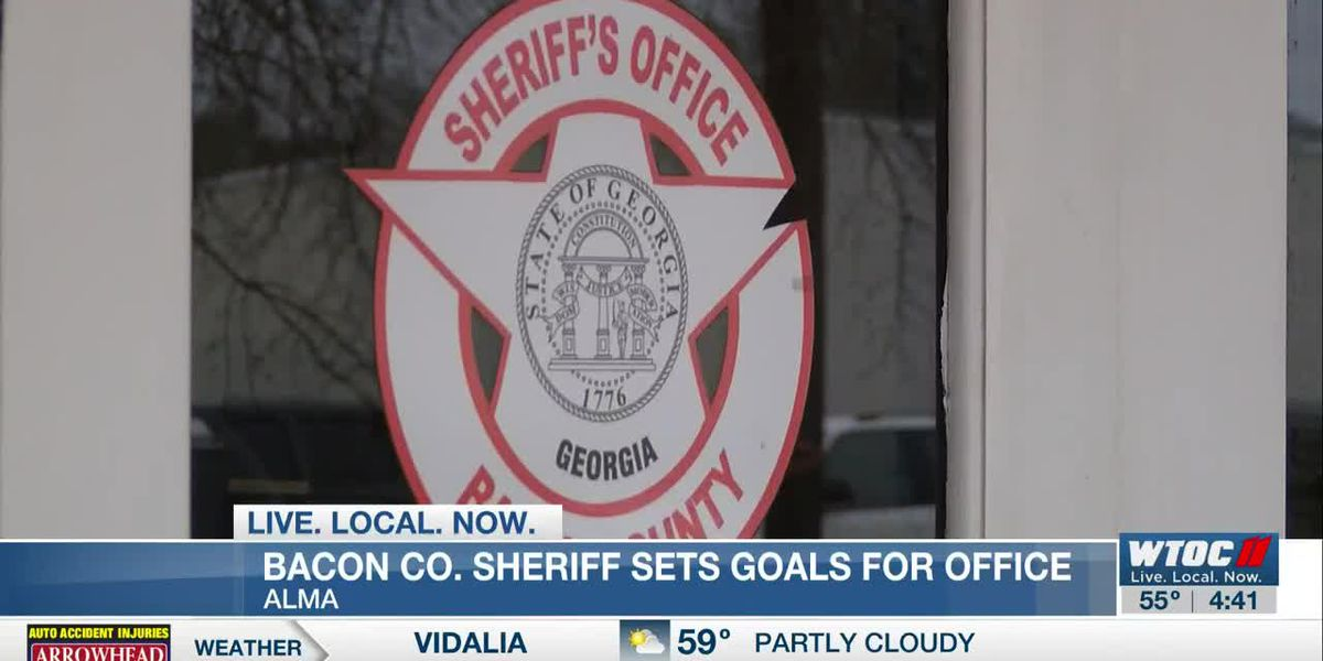 New Bacon Co. sheriff sets goals for office