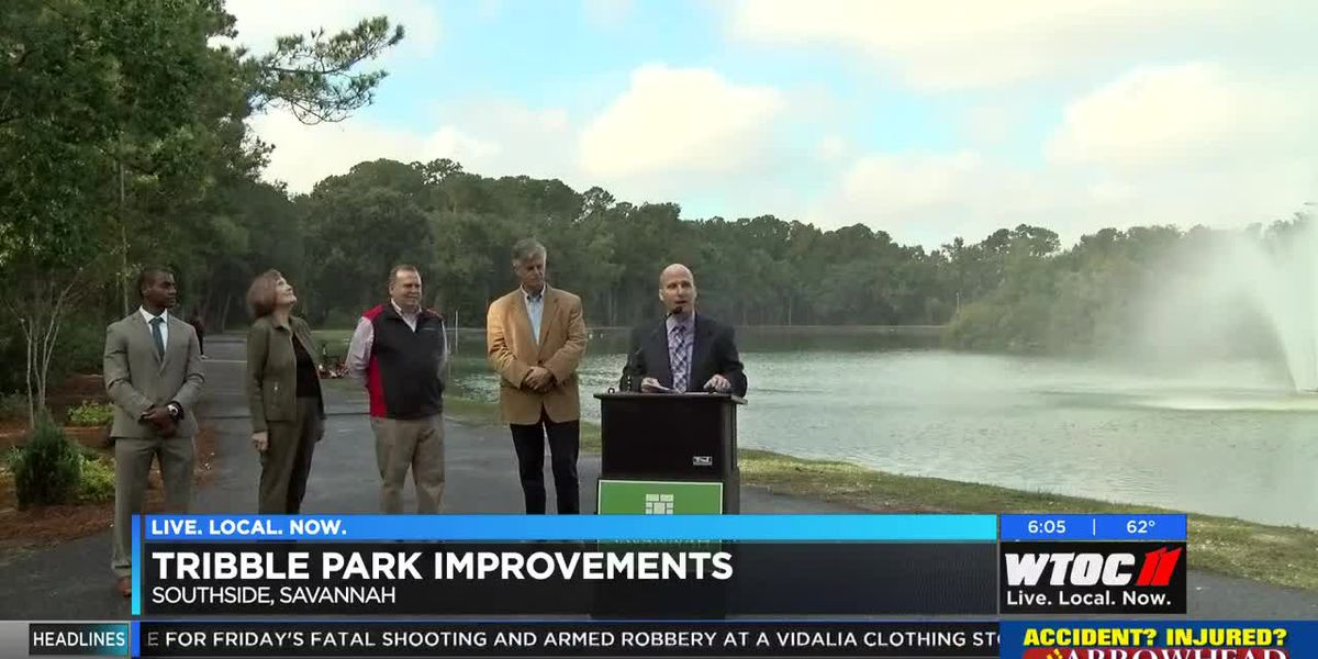 Tribble park gets new features, improvements