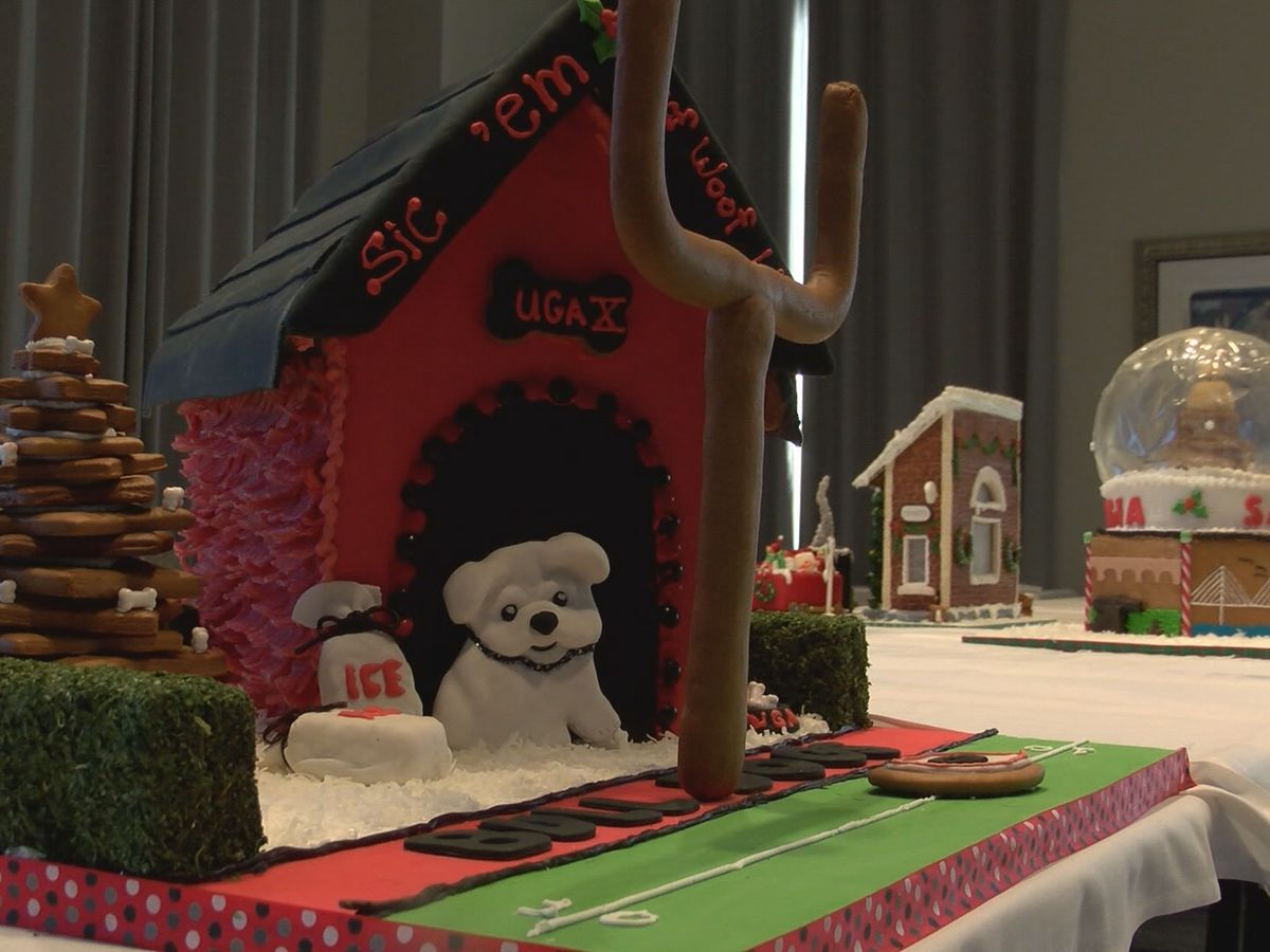 Celebrities judge annual gingerbread reception at the Westin