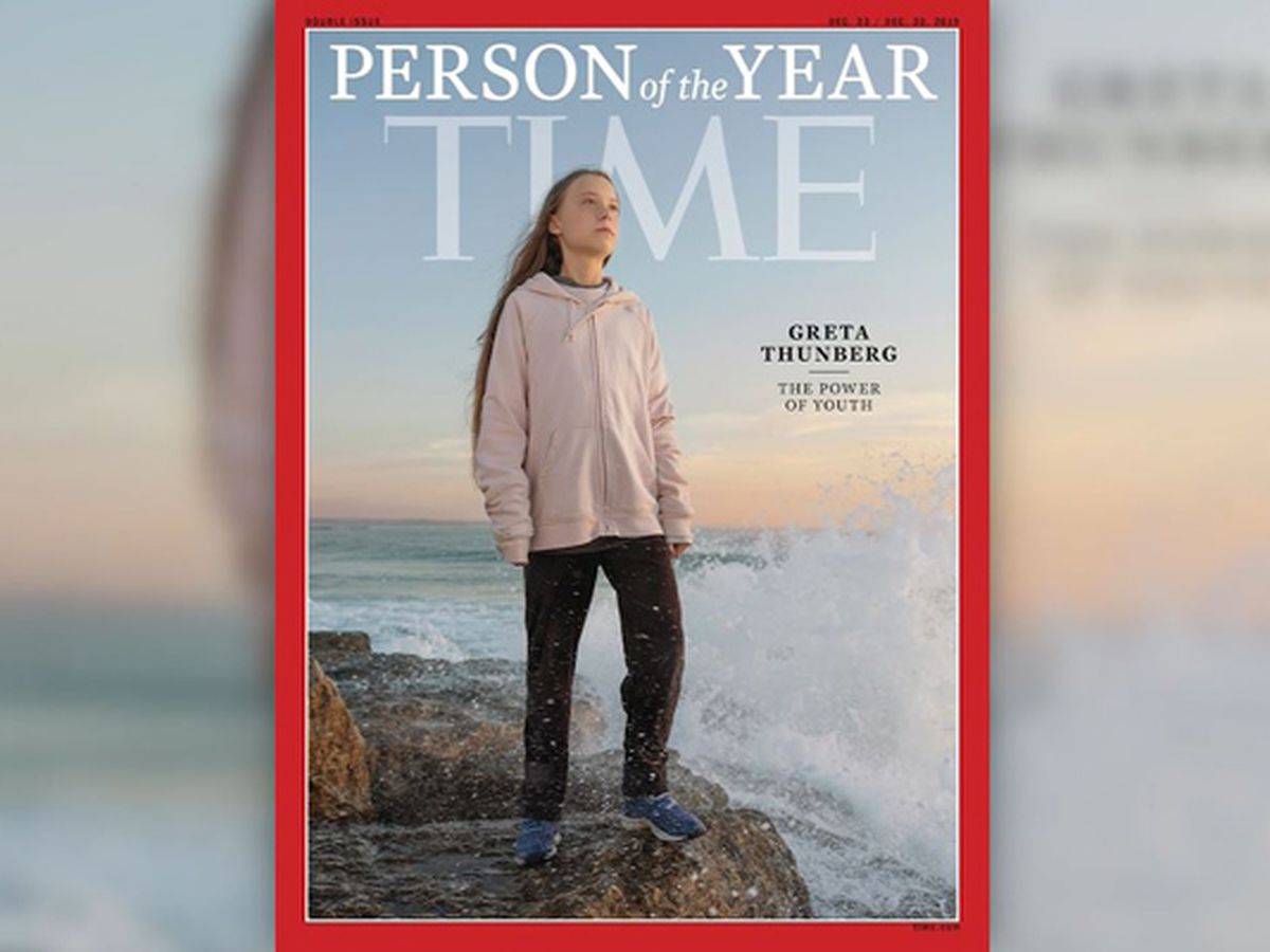 Greta Thunberg is Time's 'Person of the Year'