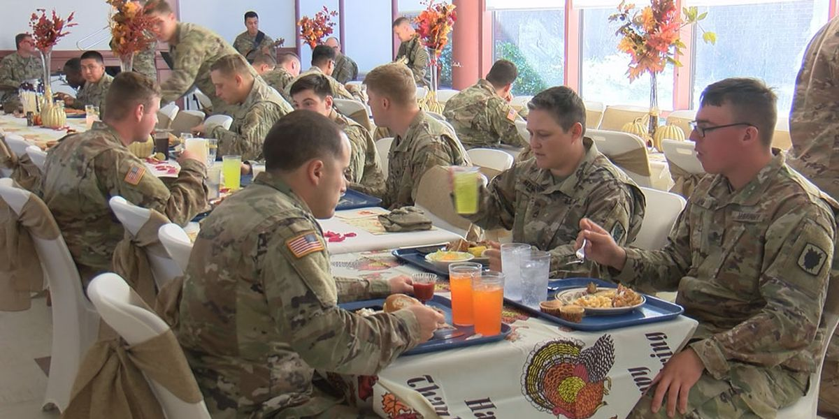 Fort Stewart-Hunter Army Airfield serving up Thanksgiving meals for soldiers