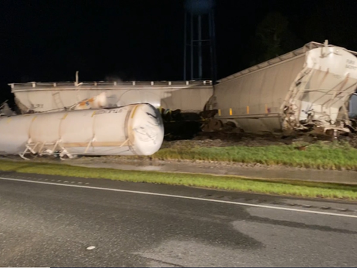 CSX investigates after train derailment prompts early-morning evacuation in Screven