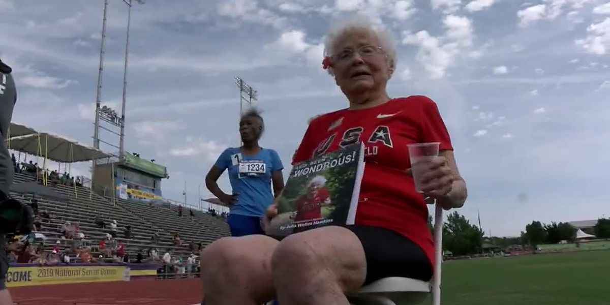 103-year-old woman owns Senior Games record