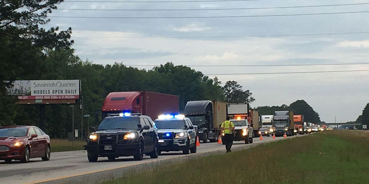 I-16 EB back open near Pooler Pkwy after tar-like substance spills on roadway