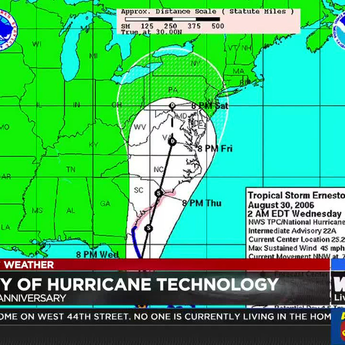 WTOC 65th Anniversary: History of hurricane technology