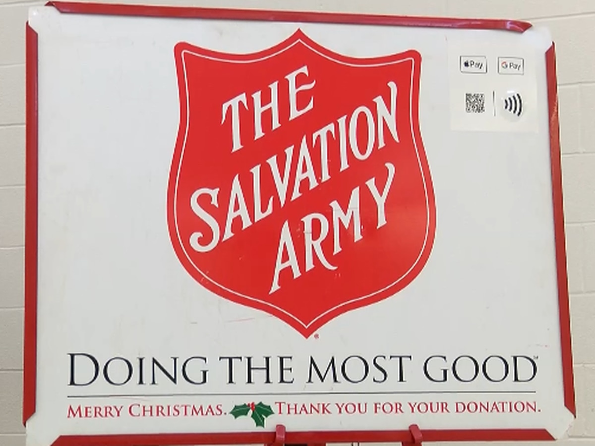 Salvation Army hoping to rescue Christmas