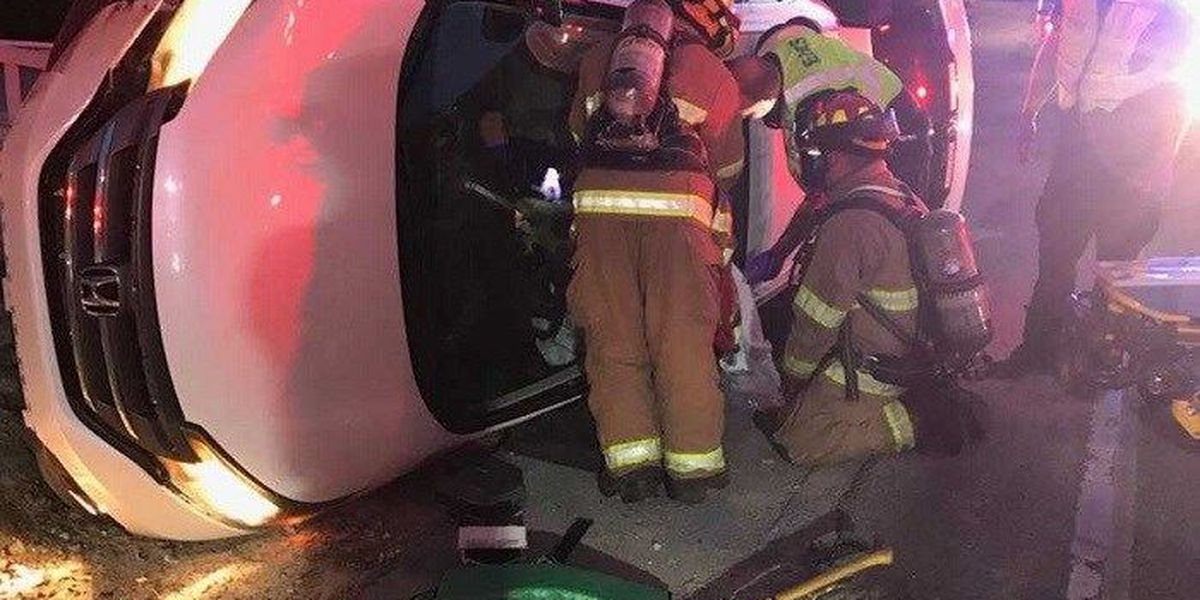 1 rescued in vehicle extrication in Beaufort Co.