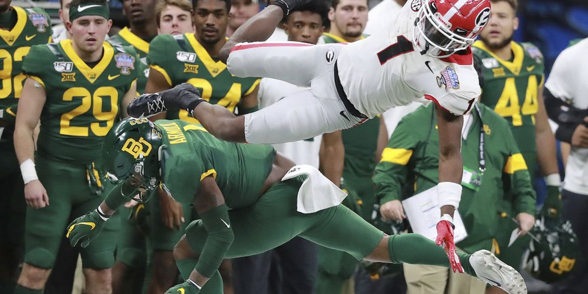 Pickens leads No. 5 Georgia past No. 8 Baylor in Sugar Bowl